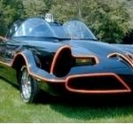 The Batmobile from 1966 TV Batman